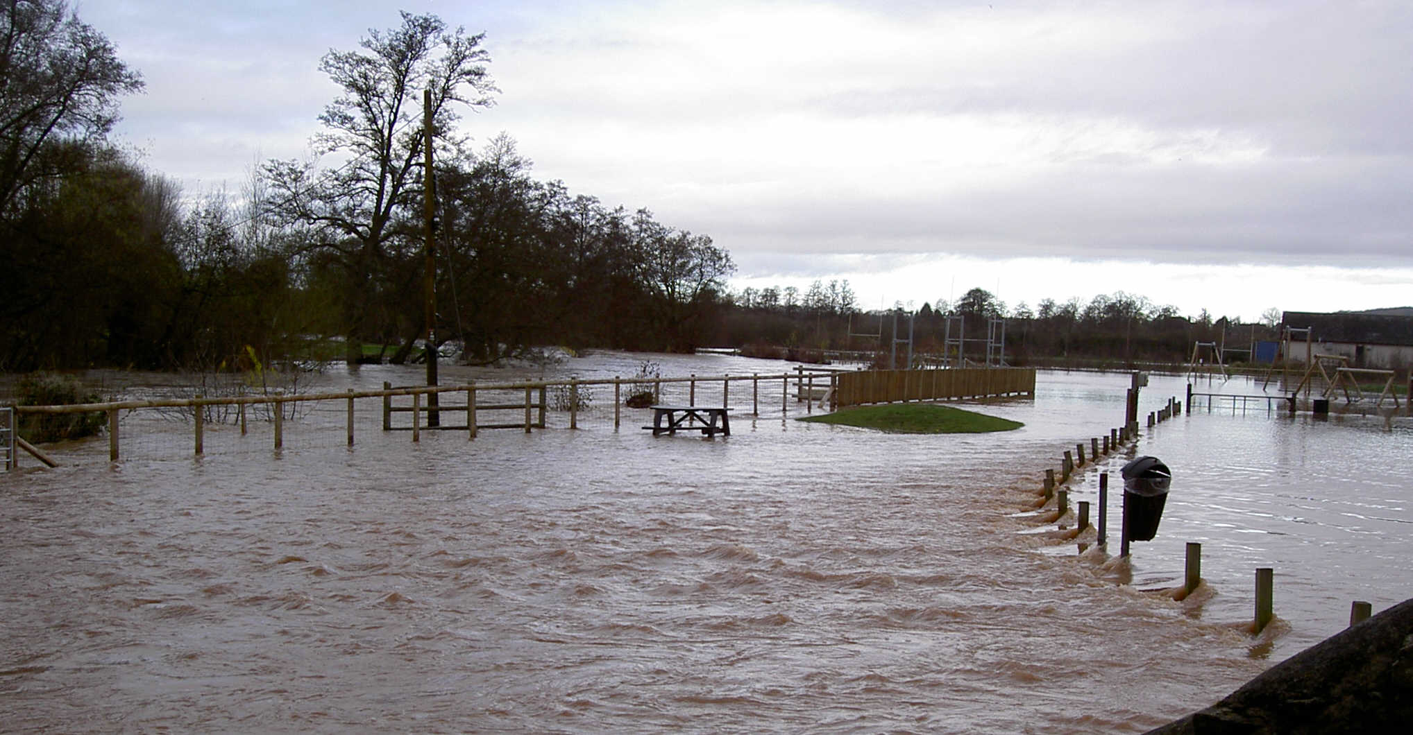 the meaning of flooding - Linney fields